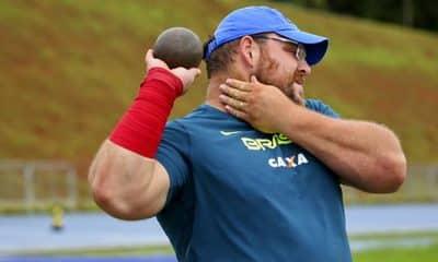 Darlan Romani volta treinos cnda atletismo