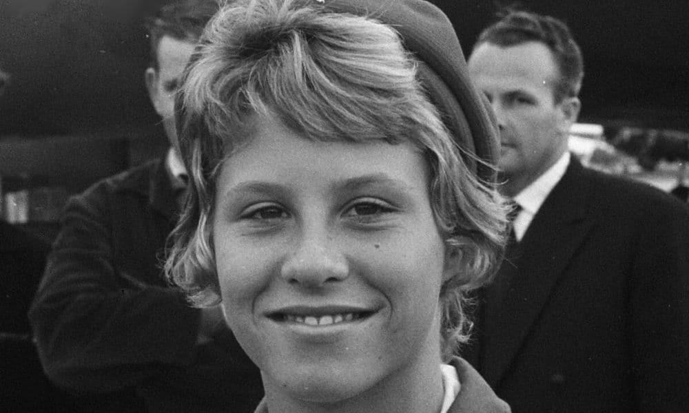 mais jovem campeão olímpico da história: Donna de Varona