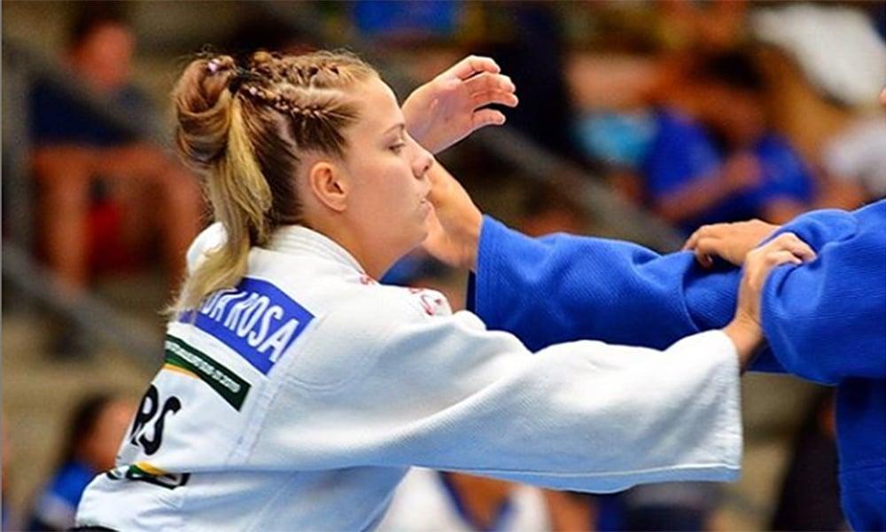 Em live com o OTD, a judoca gaúcha Duda Vaz relembrou a viagem com a seleção brasileira de judô ao Japão ao lado de Mayra Aguiar, sua referência no esporte