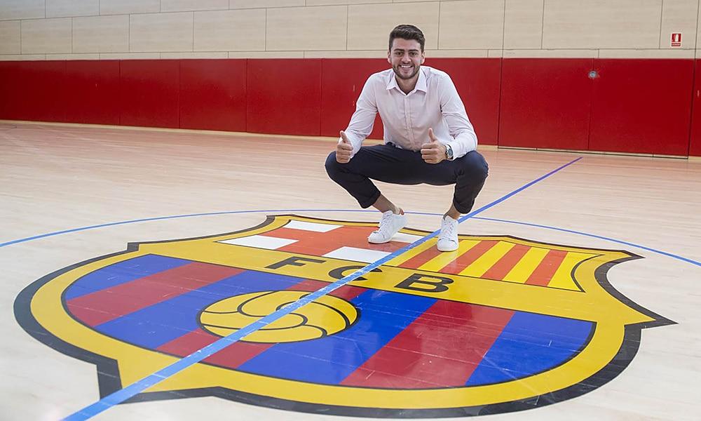 Haniel Langaro contrato Barcelona handebol
