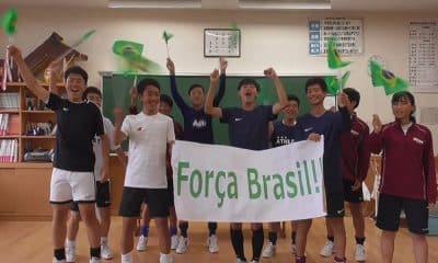 Japoneses mandam mensagem de apoio ao Brasil