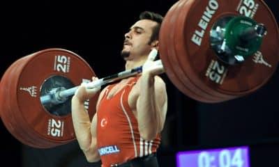 doping Mete Binay levantamento de peso