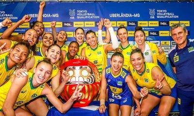 Seleção Brasileira Feminina Vôlei Tóquio Zé Roberto Natália