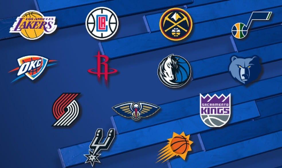 Times do Oeste na 'bolha' da NBA Disney
