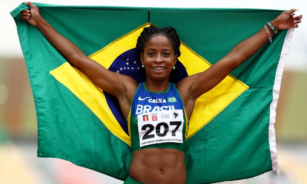Vitória Rosa Atletismo Atletas Treinos Tóquio gp brasil