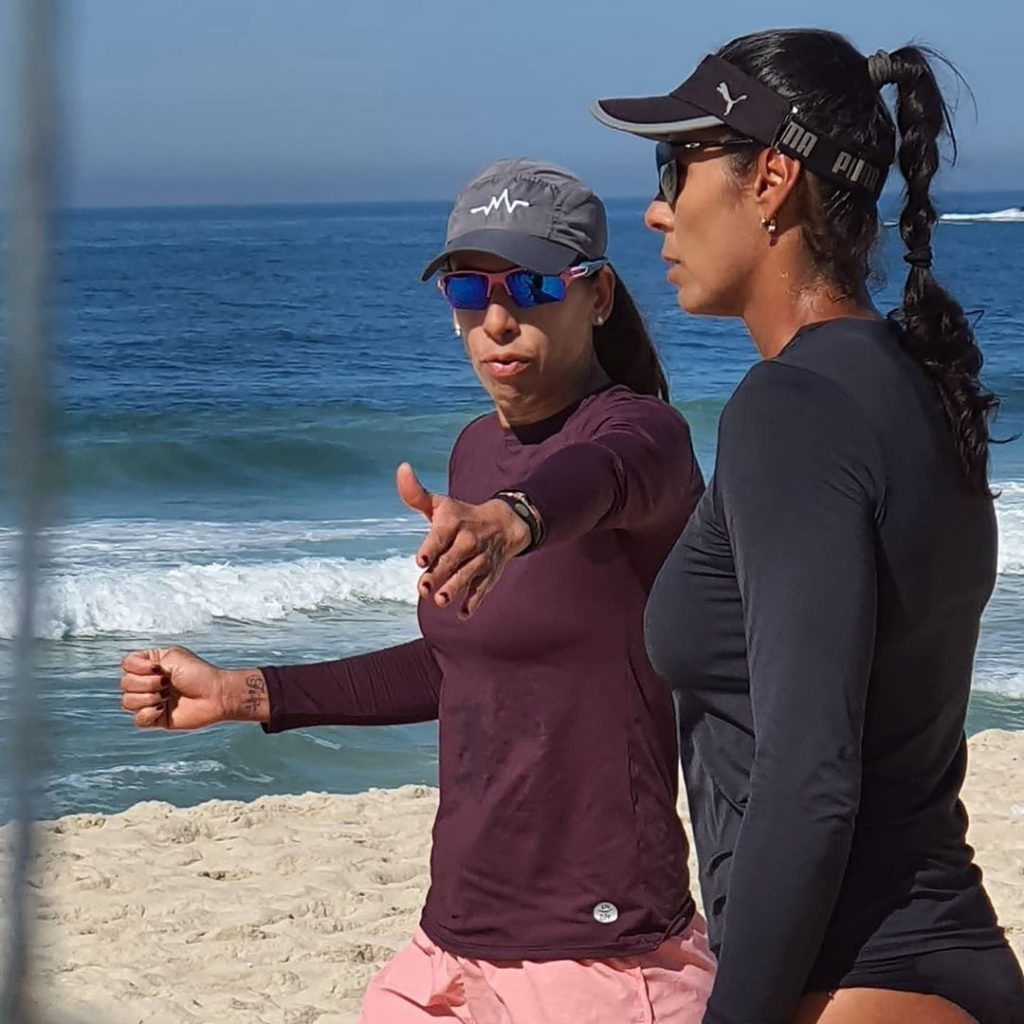 Taiana e Paula Pequeno devem estrear no vôlei de praia em setembro