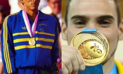 Joaquim Cruz e Arthur Zanetti fizeram história nos Jogos de 1984 e 2012, respectivamente