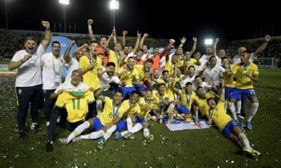Brasil tem quatro conquistas no sub-17