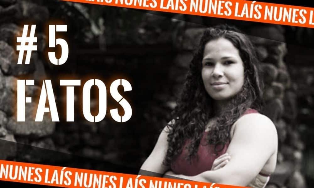 Laís Nunes, do wrestling, na arte do 5 fatos, quadro do Olimpíada Todo Dia   5 fatos   curiosidades   assista