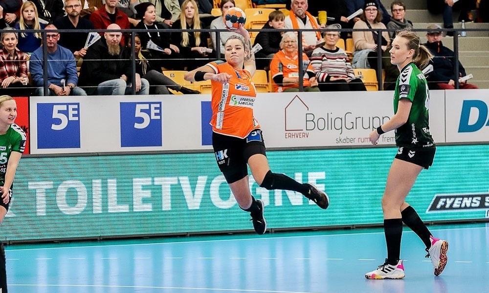 Jéssica Quintino vê Odense estrear com derrota na Liga Dinamarquesa