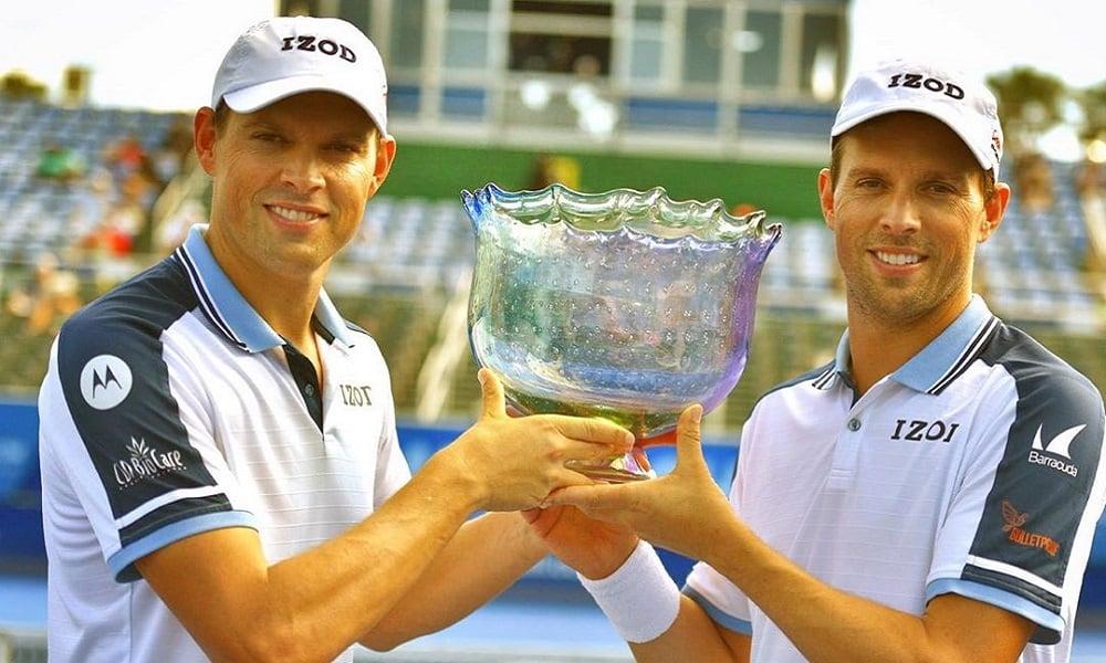 Irmãos Bryan encerram carreira com 119 títulos conquistados