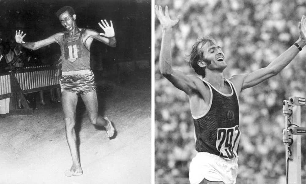Abebe Bikila e Waldemar Cierpinski os maiores vencedores da maratona em Jogos Olímpicos