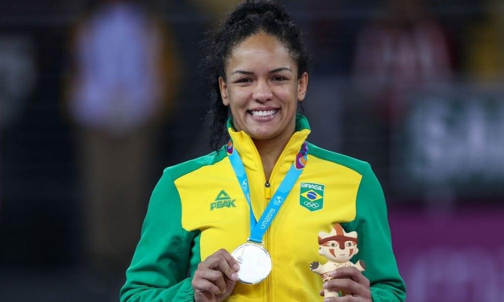 Aline Silva - wrestling feminino - até 76kg - Olimpíada de Tóquio 2020