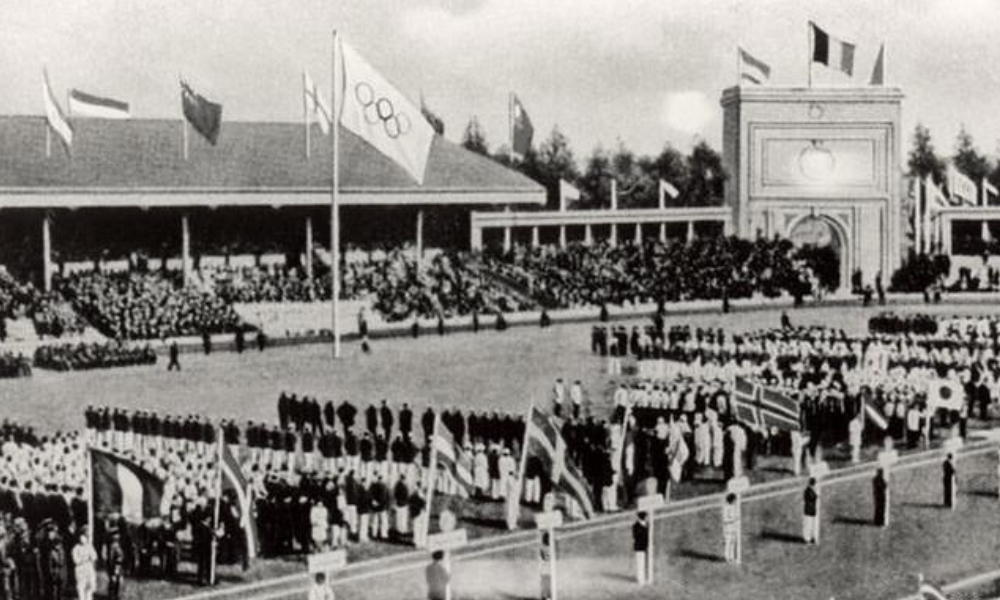Antuérpia 1920 - Afrânio da Costa - Jogos Olímpicos