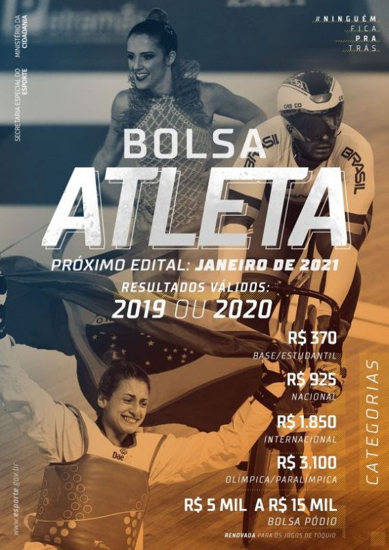 Edital Bolsa Atleta 2021