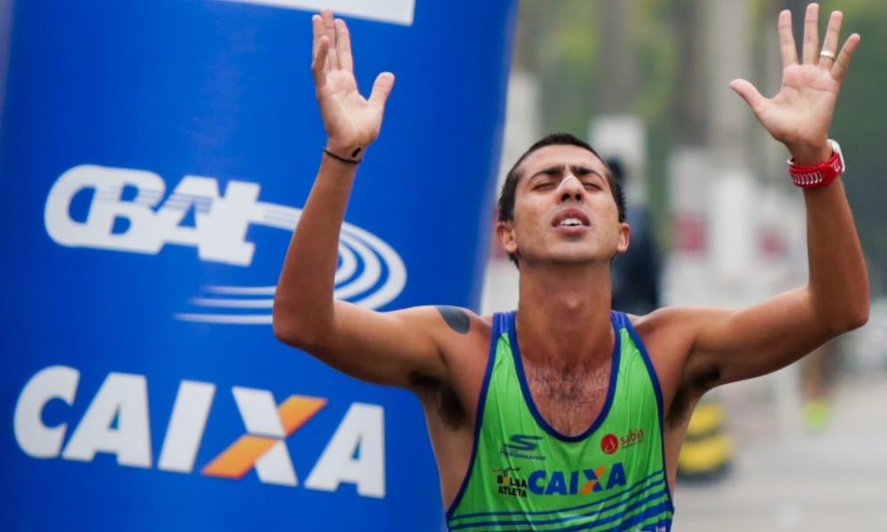 Caio BOnfim é uma esperança de medalha na marcha atlética 20km nos Jogos Olímpicos de Tóquio 2020