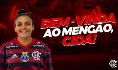 Cida - Flamengo - Campeonato Brasileiro de futebol feminino