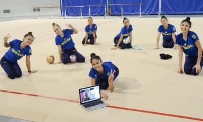 Déborah Medrado - Missão Europa - Seleção Conjunto Ginástica Rítmica