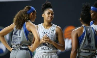 O Minnesota Lynx, time de Damiris Dantas, conquistou sua terceira vitória em quatro jogos na WNBA. Neste sábado (1), a equipe da brasileira venceu novamente o Connecticut Sun. Se na estreia o êxito foi por 77 a 69, desta vez, a vitória foi por 78 a 69. A ala DeWanna Bonner, do Sun, foi a cestinha do jogo com 28 pontos. No Lynx, a armadora Crystal Dangerfield, a ala Napheesa Collier e a pivô Sylvia Fowles foram decisivas