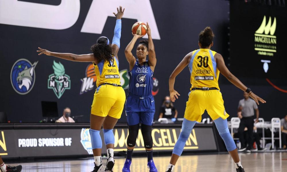 Damiris Dantas Brasileira Minnesota Lynx WNBA