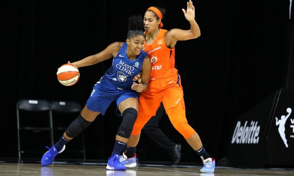 Damiris WNBA Minnesota Lynx Las Vegas Aces