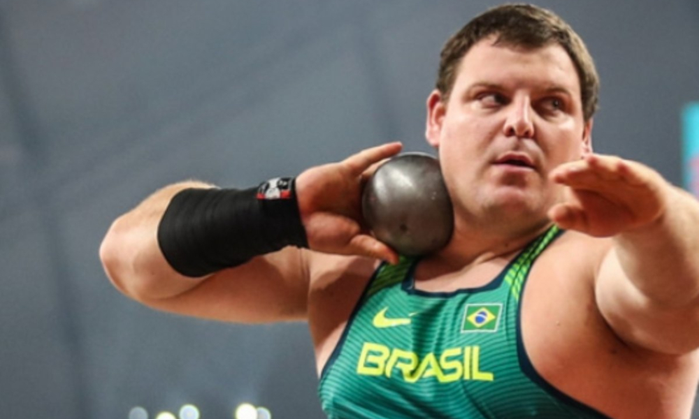 Darlan Romani Arremesso de Peso Tóquio Atletismo