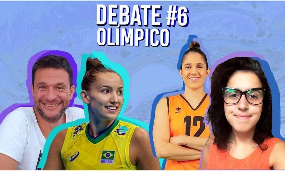 Debate Olímpico - amigas Natalia Zilio e Gabi Guimarães - Vôlei