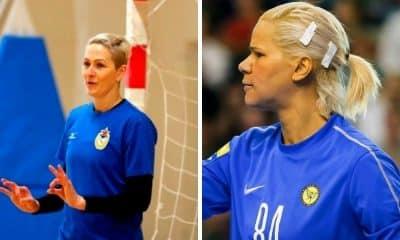 Copa da Rússia de Handebol feminino Chana Masson e Mayssa Pessoa