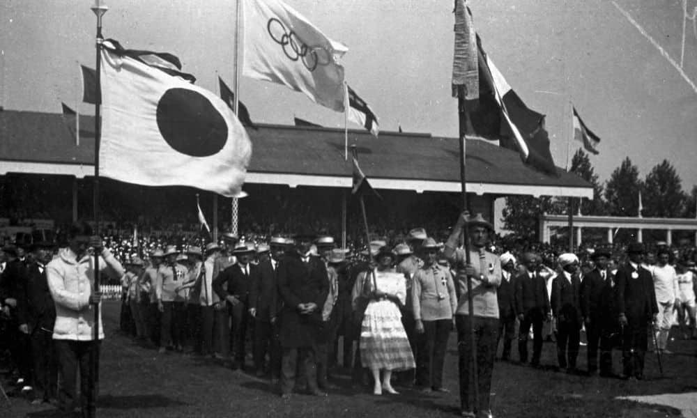 Cerimônia de Abertura Antuérpia 1920