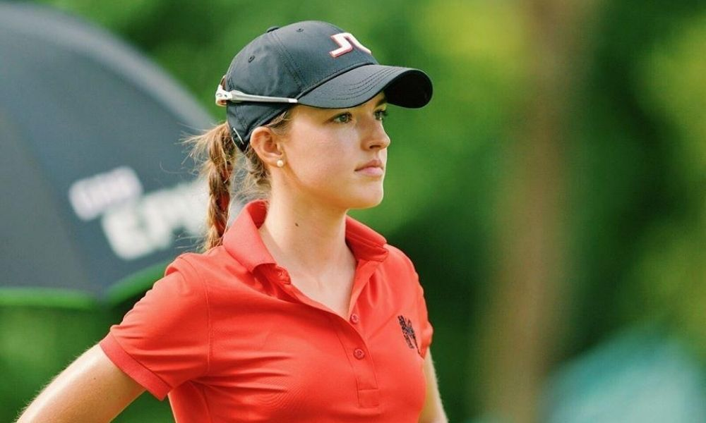 Luiza Altmann golfe Open da Flórida