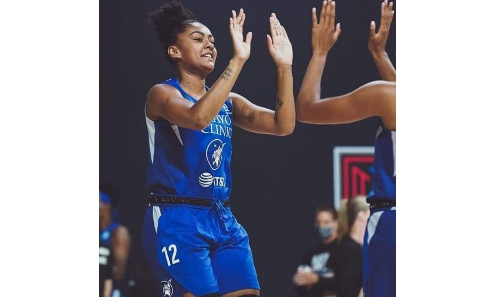 Damires Dantas, do Minnesota Lynx, WNBA