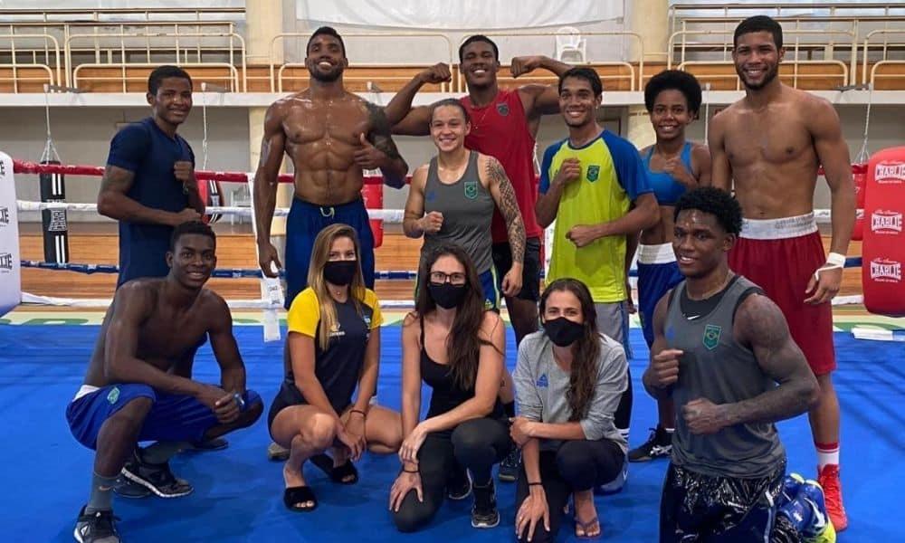 atletas boxe nado artístico missão europa