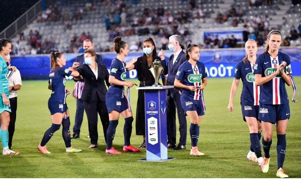 psg lyon copa da frança de futebol feminino 2020