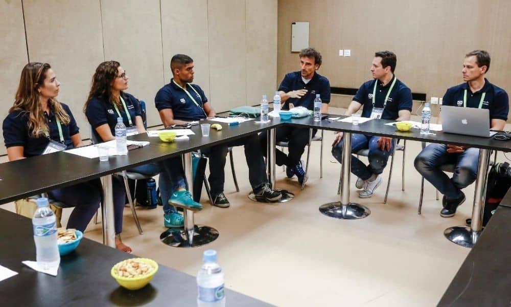 Comissão de Atletas do COB  eleição