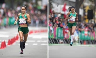 Valdilene dos Santos e Andreia Hessel representam o Brasil na maratona feminina