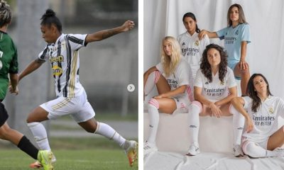 Juventus e Real Madrid apresentam uniforme para a temporada 2020/2021