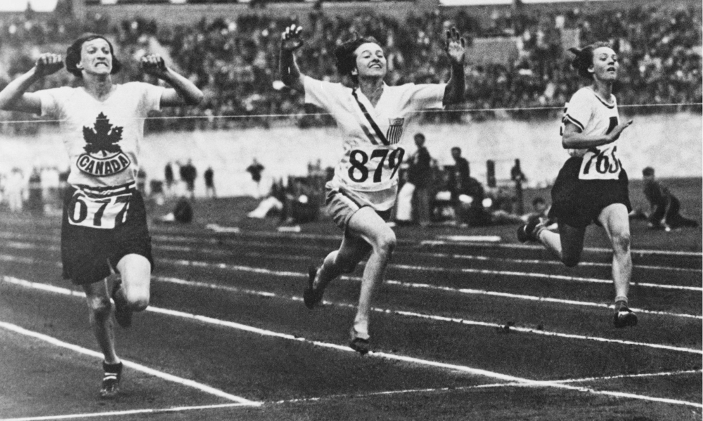 Elizabeth Robinson - Primeira campeã dos 100 m em Olimpíadas - Amsterdã-1928