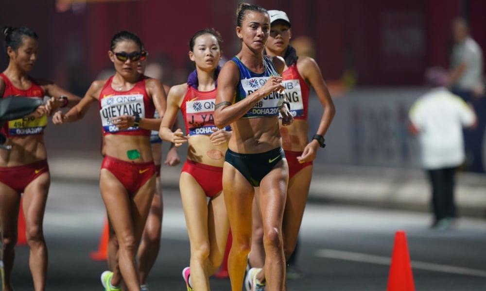 Erica Sena Atletismo Medalha Tóquio Marcha Atlética Revezamento 4x100 m