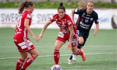 Fernandinha - Pitea - Campeonato Sueco de Futebol Feminino
