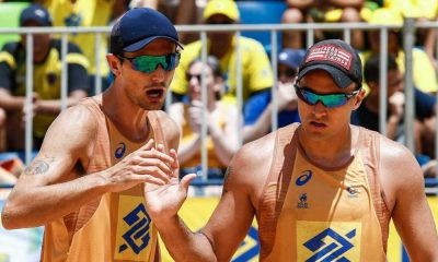 George e André Stein - Vôlei de Praia - Circuito Brasileiro de Vôlei de Praia