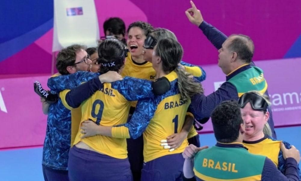 tabela do goalball feminino dos jogos paralímpicos de tóquio-2020