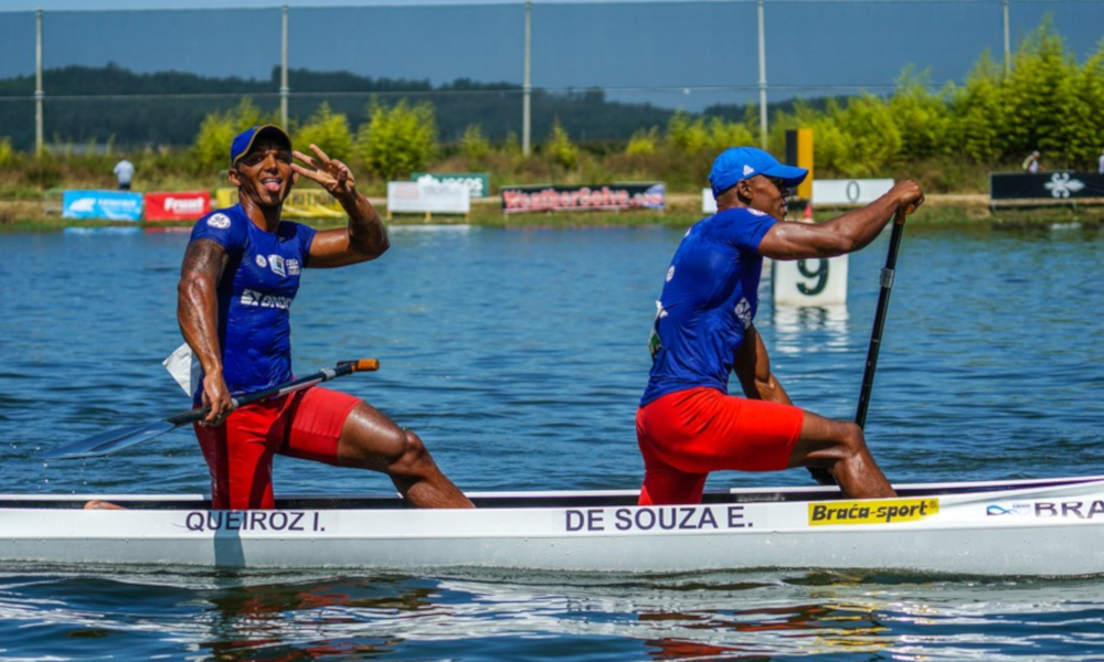 Isaquias Queiroz Erlon de Souza Canoagem de Velocidade C2 1000 m Tóquio Medalha