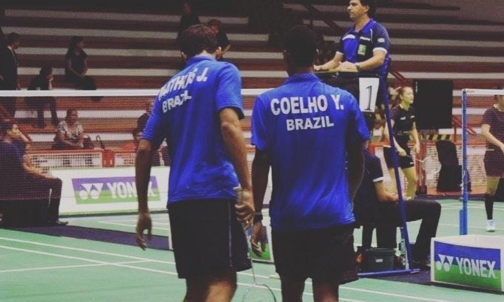 Ygor Coelho - Jonathan Santos - Badminton