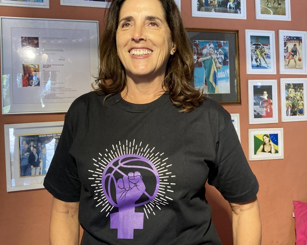 LBF - Apoio ao basquete feminino - Dia Internacional da Igualdade Feminina