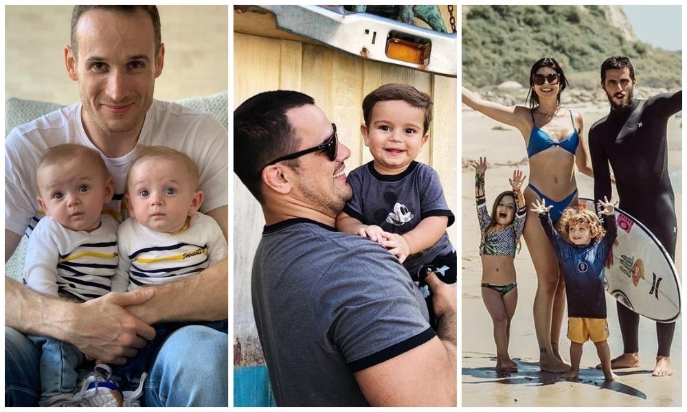 Marcelinho Huertas - David Moura - Filipe Toledo - Pai - Dia dos Pais