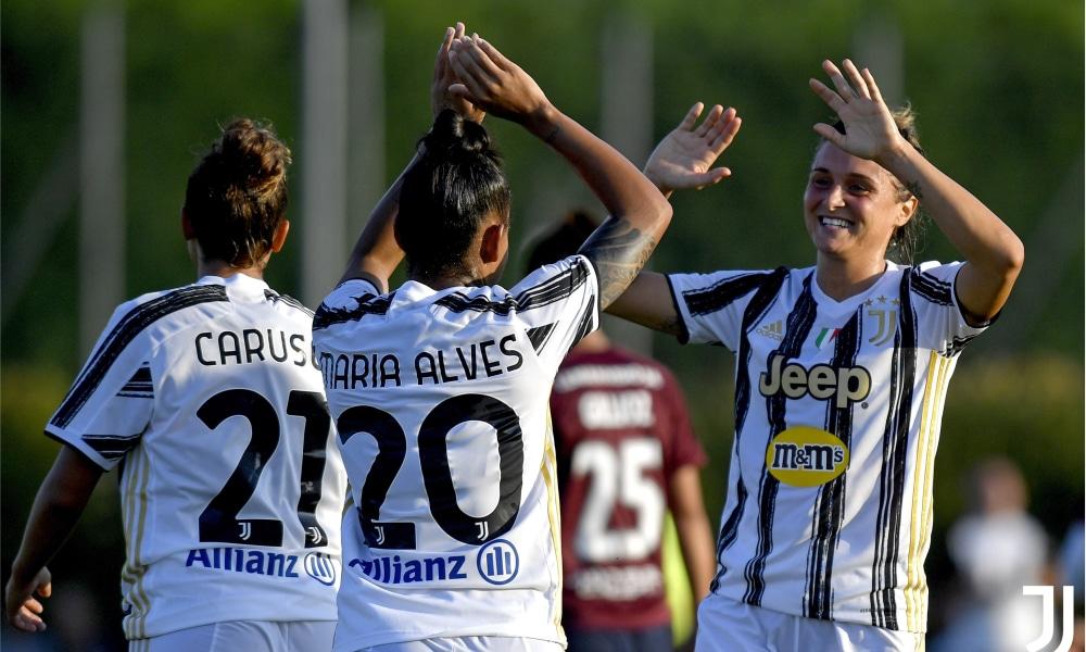 Maria Alves - Juventus - Montpellier - Troféu Veolia