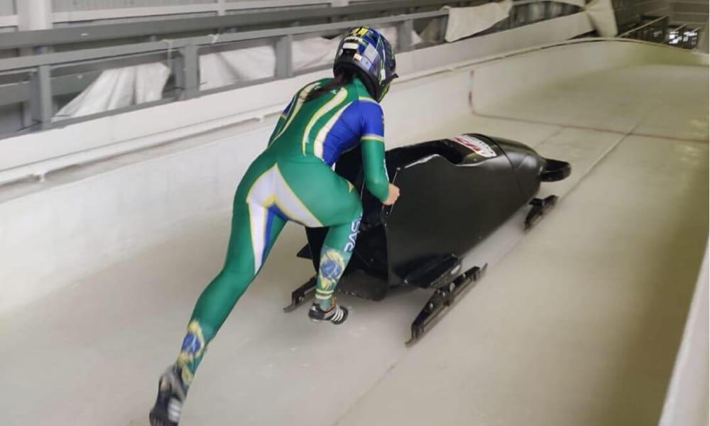 Marina Tuono - Monobob - Esportes de Inverno