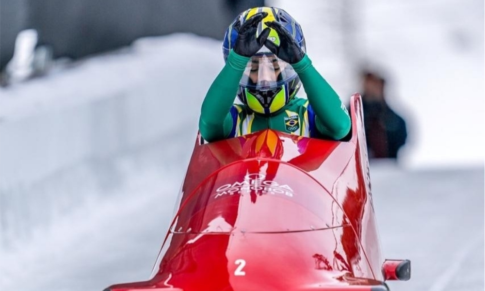 Marina Tuono - monobob - Pequim-2022 - Esportes de Inverno - CBDG