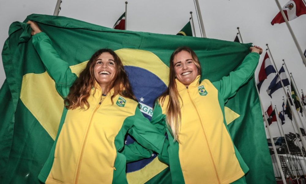 Martine e Kahena Campeãs Olímpicas Vela