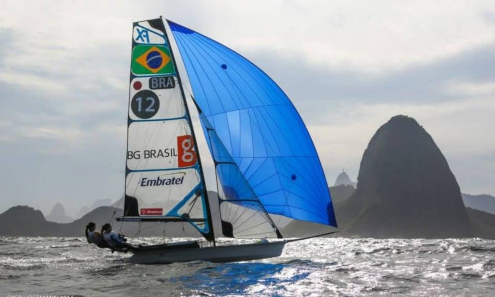 Martine e Kahena Classe 49er FX Tóquio Campeãs Olímpicas Brasileiras Vela